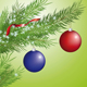 Christmas tree branch - GraphicRiver Item for Sale