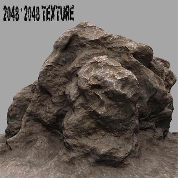 rock 07 - 3DOcean Item for Sale