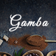 Gamba - Coffee & Drink PSD Template