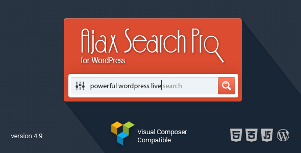 Ajax Search Pro for WordPress - Live Search Plugin
