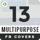 Multipurpose Facebook Covers Bundle - 13 Designs