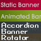 Accordion Banner Rotator - ActiveDen Item for Sale