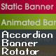 Accordion Banner Rotator - ActiveDen Item for Sale