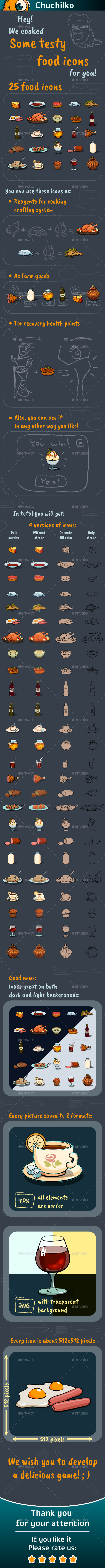 Mintie - 110 Flat Fresh Icons