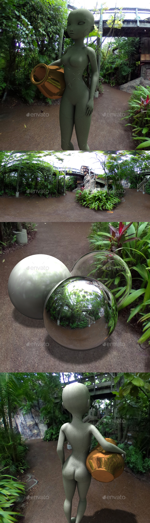 Jungle Clearing HDRI - 3DOcean Item for Sale