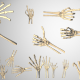 Skeleton Hand Movements