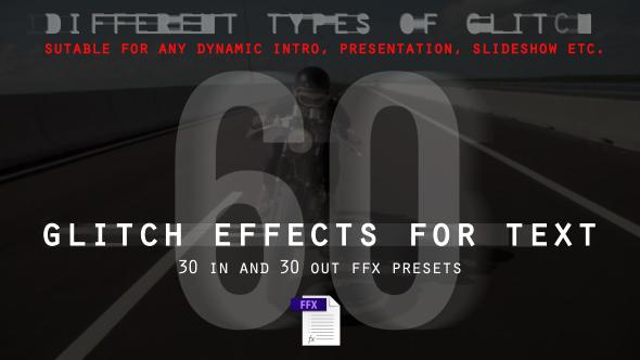 VideoHive Glitch Effects 16637697