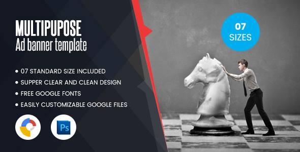 Download Multi Purpose Banners HTML5 D1 - Google Web Designer