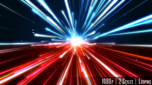 Nopeus Motion Blur Trails - Light Taustat Motion Graphics