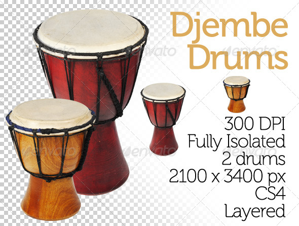 GraphicRiver Djembe Drums 195501