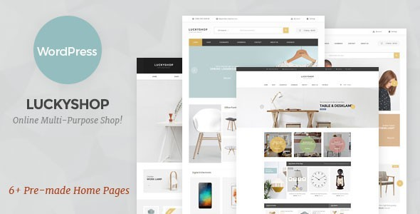 Download LuckyShop - Multi-Purpose WooCommerce WordPress Theme nulled download