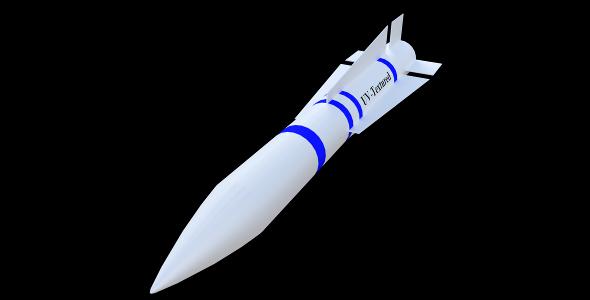 AIM-54 Phoenix Missile (PBR, UV-textured) - 3DOcean Item for Sale