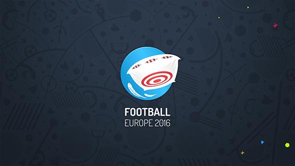 Jalkapallo Europe 2016 - Urheilu avaajat After Effects Project Files