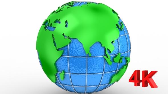 Pyörivät of Earth - 3D, Object Taustat Motion Graphics