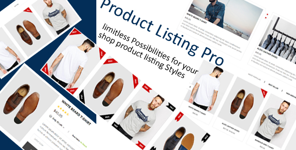 Product Listing Pro - A Complete Product Listing Package - CodeCanyon Item for Sale