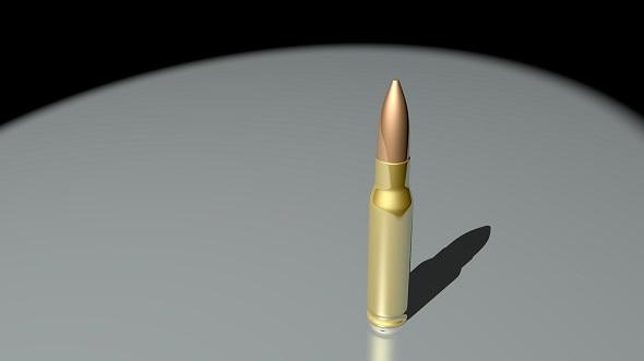 Bullet - Rifle - 3DOcean Item for Sale