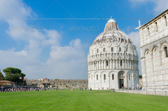 Baptistry of St. John - Stock Photo - Images