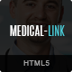 Medical-Link - Responsive Medical HTML5 Template