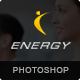 ENERGY - PSD Theme