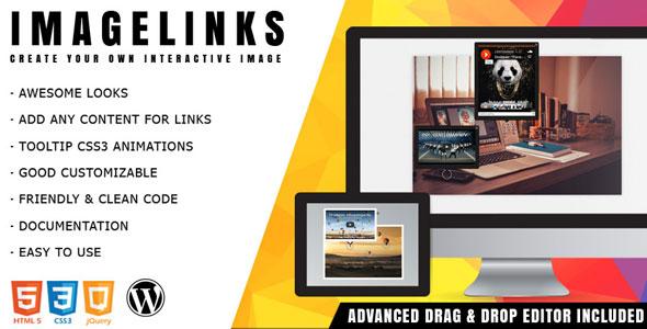 Download ImageLinks - Interactive Image Builder for WordPress nulled download