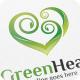 Green Heart - Logo Template