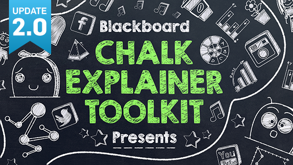 Blackboard Chalk Explainer Toolk-Videohive中文最全的AE After Effects素材分享平台