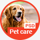 Pet Care - Veterinary PSD Template