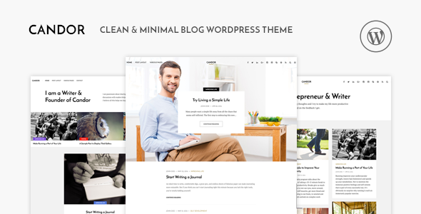 Candor - Responsive WordPress Blog Theme