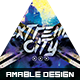 Extreme City Flyer/Poster