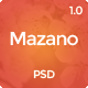 Mazano - Multi-purpose PSD Template