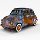 Weathered Fiat 500 Nuova rev