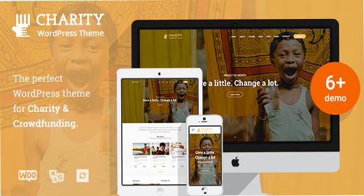 Best Charity WordPress theme