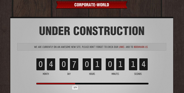 Corporate World - Under Construction
