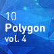 Polygon Abstract Backgrounds vol.4
