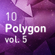 Polygon Abstract Backgrounds vol.5
