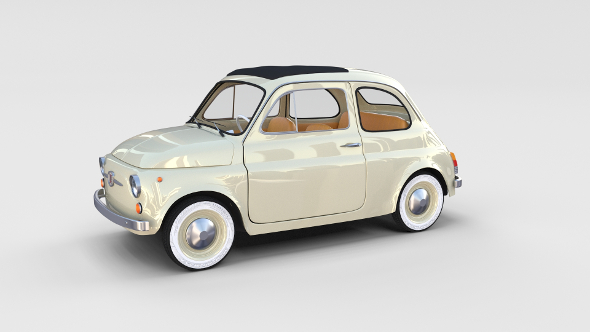 Fiat 500D Nuova 1960 rev - 3DOcean Item for Sale