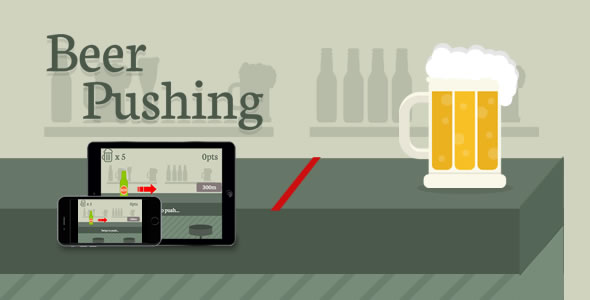 Beer Pushing - HTML5 Game