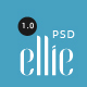 Ellie Creative PSD Template