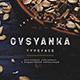 Ovsyanka Typeface