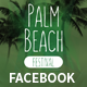 Palm Beach Summer Festival Facebook Covers and Post Banners