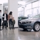 Seller Meets Family In a Car Showroom