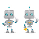 Two Robots Gesturing