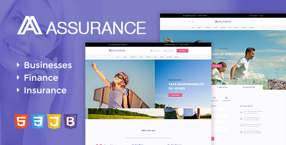 Image of Assurance - Insurance HTML5 Responsive Site Template