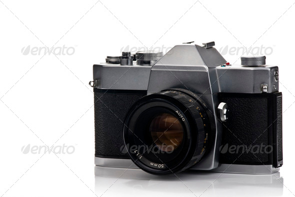 Photo camera - Stock Photo - Images