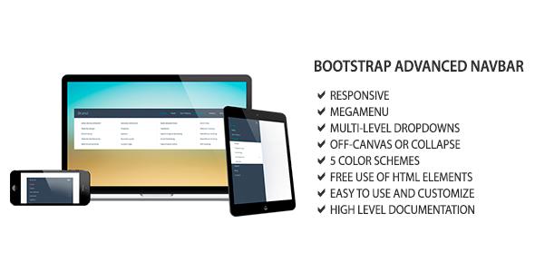 Download Bootstrap Advanced Navbar
