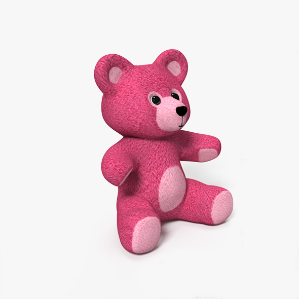 Teddy Bear - 3DOcean Item for Sale