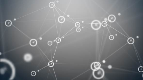 Network Data Technology Background - Teknologia Taustat Motion Graphics