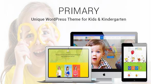Download Primary -  Colorful Kindergarten School WordPress Theme nulled download