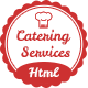 Catering - Chef and Food Restaurant Template | Chef Portfolio
