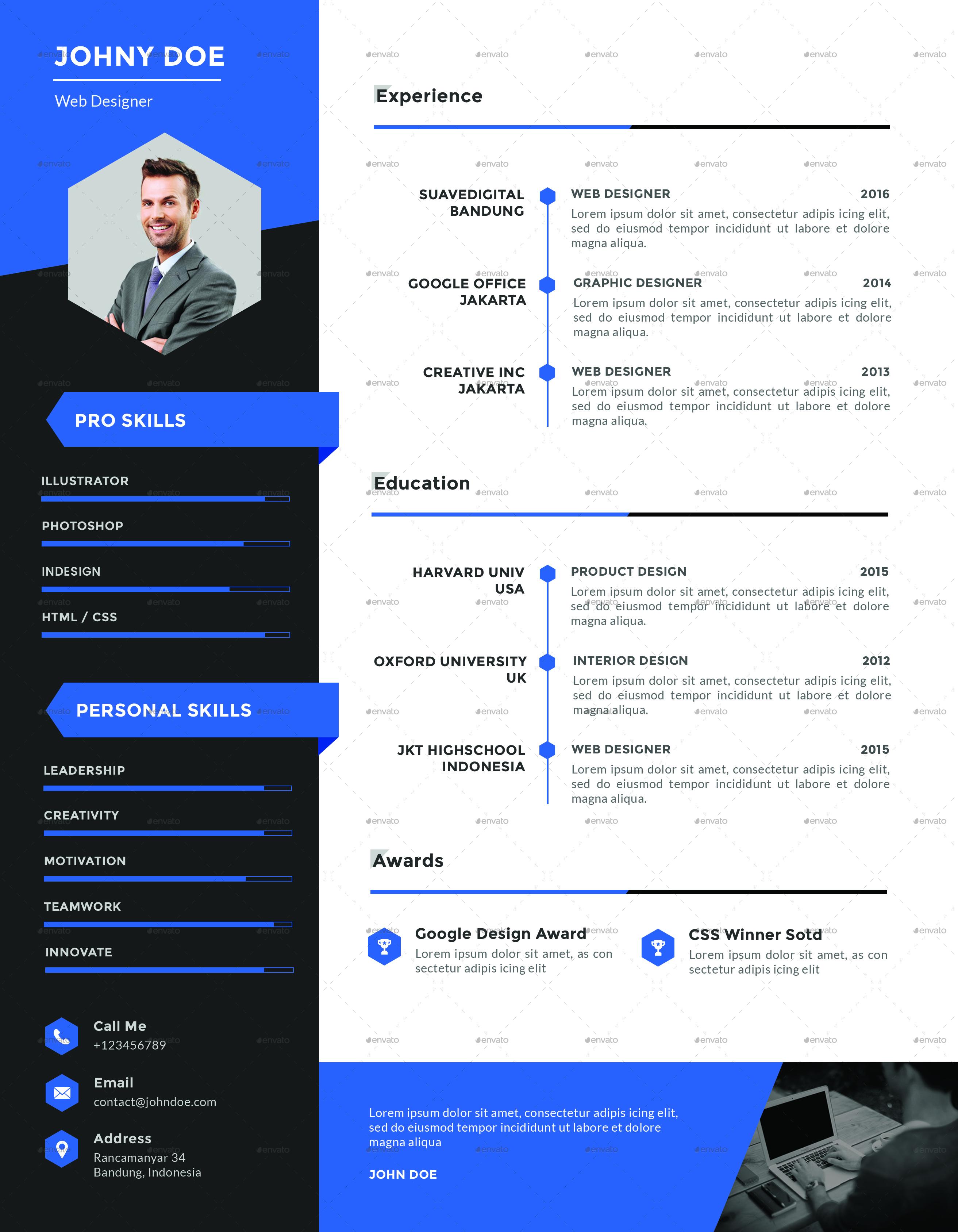 xpro modern resume cv portfolio by suavedigital graphicriver images cover letter jpg images portfolio jpg